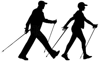 """Résultat de recherche d'images pour """"marche nordique silhouette"""""""